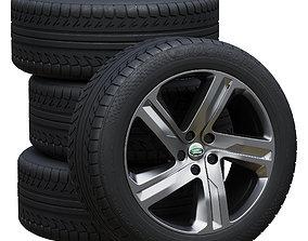 3D model Land Rover wheels
