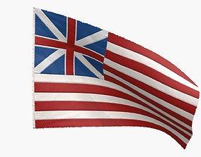 Grand Old Union Flag 3D model