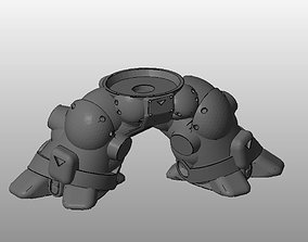 CHIBI-TECH SD - SERPENT CHASSIS 3D print model
