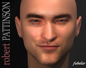 3D model Robert Pattinson