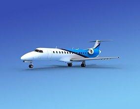 Embraer ERJ-135 Corporate 3 3D model
