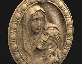 Jesus Christ Maria 3D Model