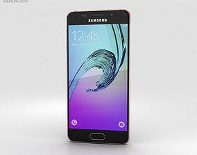 3D model Samsung Galaxy A3 2016 Rose Gold