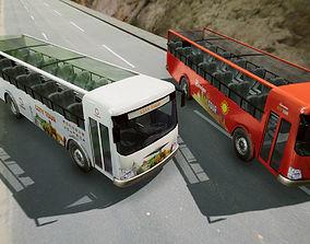 City Tour Bus 3D model