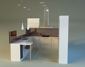3D lower Kitchen