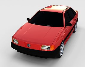 3D Volkswagen Passat B3 rev