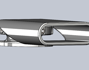 3D print model TMG Adjustable Grill Sensor Holder
