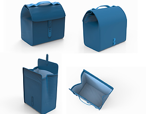 Lunch bag Opened and closed 3D