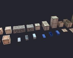 3D model Box LowPoly