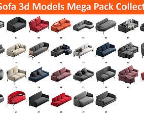 3D 30 Sofa Mega Pack Collection