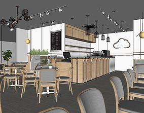 other 3D model restaurant