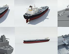 3D MAX Model-Offshore Tanker