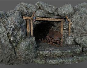 3D asset Old Mine