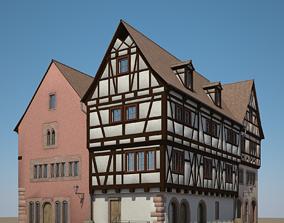 Medieval Houses V 3D