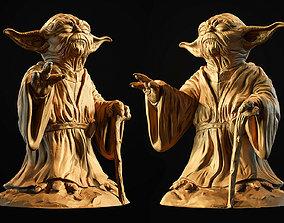 Yoda Sculpture fan 3d print model