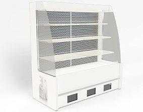 3D model Chiller cabinet shop display