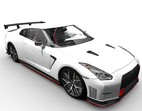3D asset Nissan Nismo - GTR