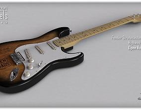 lever Fender Stratocaster Guitar 3D