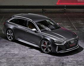 3D model Audi RS6 Avant 2020