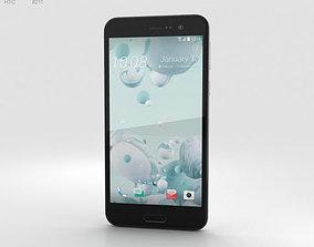 HTC U Play Ice White 3D