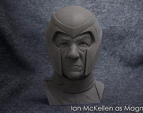 3D printable model Buste of Ian McKellen as Magneto