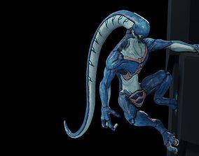 3D asset Alien 2 0 3