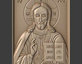 3D print model Orthodox Christian Icon of Christ