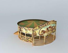 3D model Super Chariot Racer 1934 Speedway