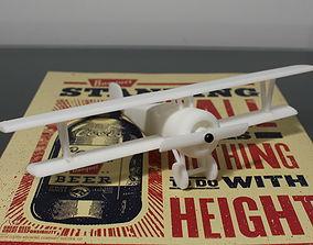 3D print model 1916 French Biplane Nieuport 17