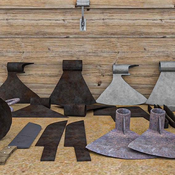 blacksmith assets