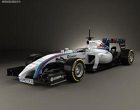 3D model Williams FW36 2014