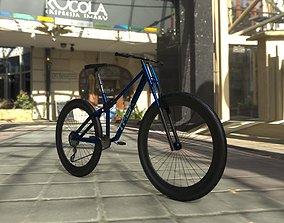 3D asset Mountain Bike