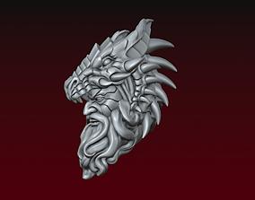 3D print model Dragon spirit head
