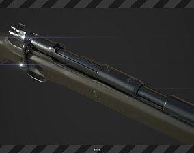 FPS Mauser98k 3D Model game-ready