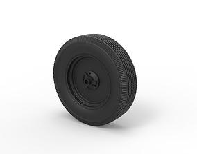 3D print model Diecast Wheel from old school Formula One