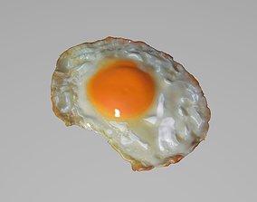 fried egg 3D model