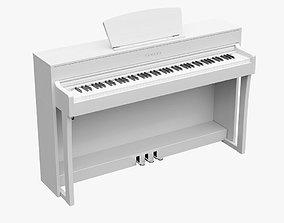 Yamaha CLP-635 WH Digital Piano 3D model