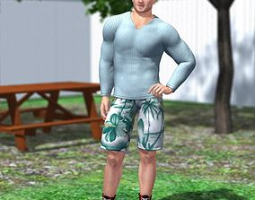 3D Casual Set 2 M4 for Poser