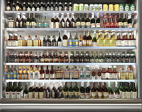 3D Showcase in Alcohol store