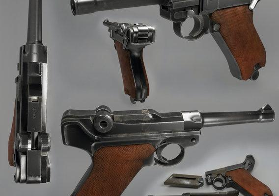 Gun Luger Parabellum
