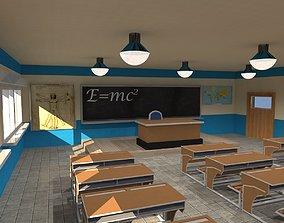 3D Classroom table