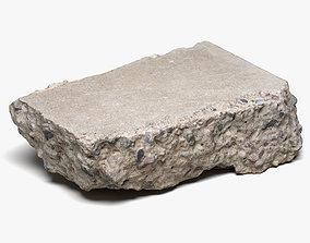 3D model Concrete Chunk 03 - 16K Scan