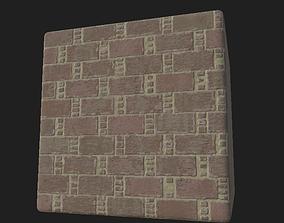 3D model Worn Bricks - PBR Tileable Texture Set