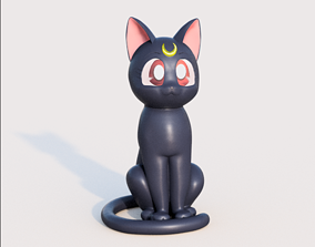 3D print model Luna from Sailor Moon