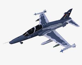 3D model low-poly Hawk T2