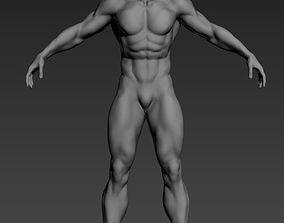 3D model Muscle man