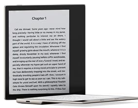 Amazon Kindle Oasis Tablet 3D