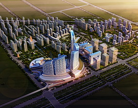 City Aerial View 823 3D Models