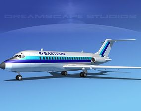 Douglas DC-9-20 Eastern Airlines 2 3D model