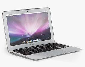 3D asset Apple MacBook Air 11 2010 Low-Poly